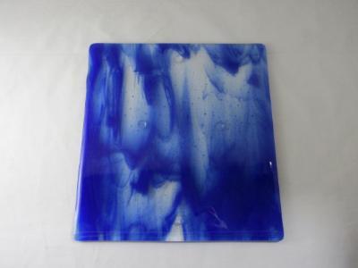 CB6020 - Cobalt Blue Wispy Cutting Board