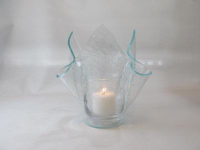 VO2104 - Clear Vecchio Tall Votive Holder