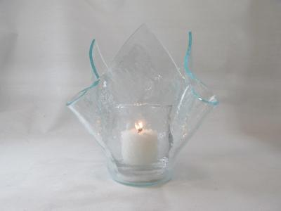 VO2105 - Clear Vecchio Tall Votive Holder