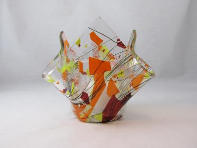 VO2133 - Autumn Fling Lotus Votive Holder