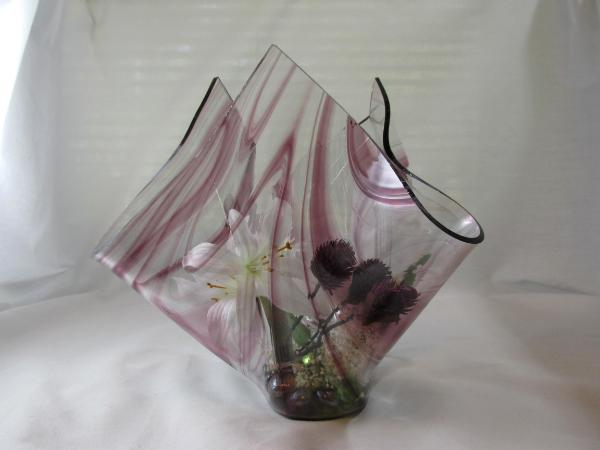 Va1112 Amethyst Baroque Center Piece Vase Uniquely Yours Custom