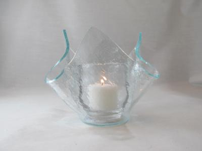 VO2103 - Clear Vecchio Lotus Votive Holder