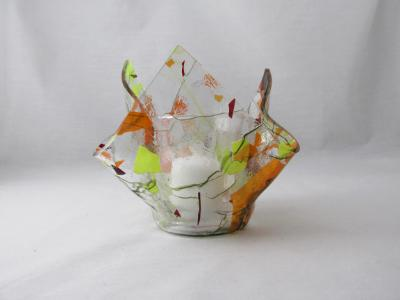 VO2131 - Autumn Fling Lotus Votive Holder