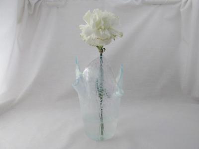 VA1176 - Krinkle, Iridized Small Vase