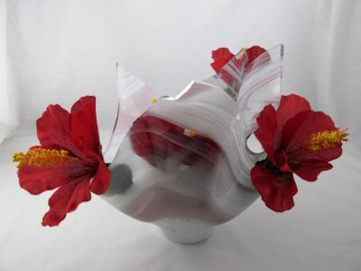 VA1164 - Pale Purple Baroque Centerpiece Vase