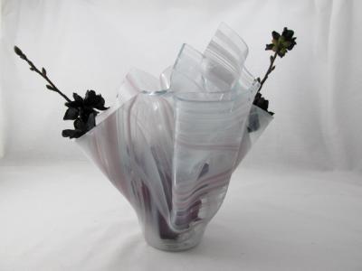 VA1163 - Pale Purple Baroque Centerpiece Vase