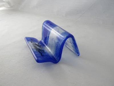 BC13020 - Cobalt Blue Wispy Business Card Holder